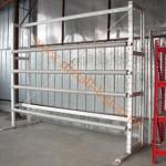 стенд для рулонных материалов